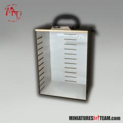 Plexi front panel for MAT-CASE